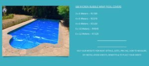 solar pool blanket bubble wrap pool cover pricing cape town 3