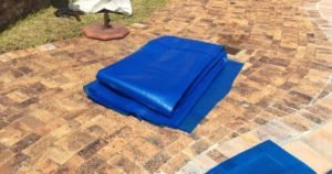 3x6 meter off cut bubble wrap pool cover 500 micron