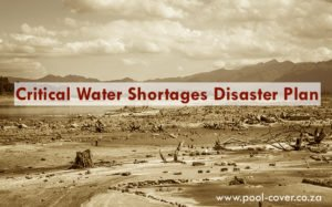Cape Town's Critical Water Shortages Disaster Plan - drought western cape