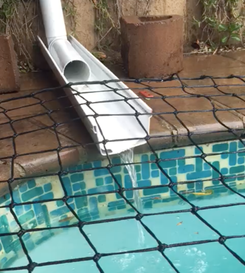 Using Water From The Rain To Fill Up Our Pool Swimming Pool Covers Cape Town Solar Pool Covers