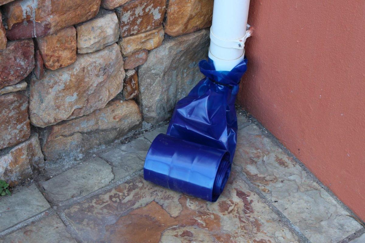 Grey Water PVC Drain Pipe Extensions Cape Town Rain Water Harvesting 5