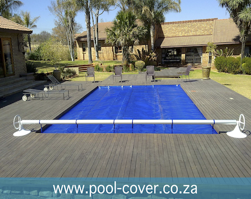Swimming Pool Roller Pool Cover roll up station 1