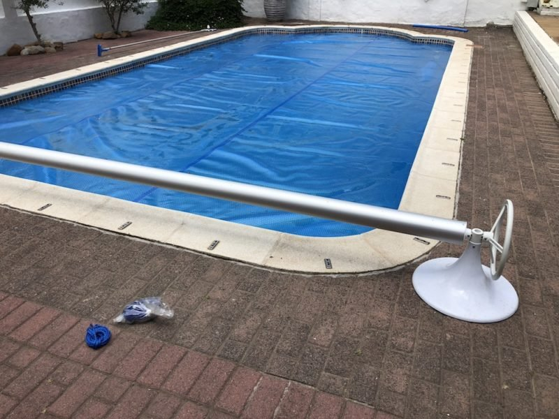 pool covers cape town 500 micron bubble wrap solar pool blanket roll up station