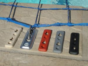 Aqua-net swimming pool safety net pool safety cover clips
