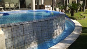 Aqua-net swimming pool safety net pool safety covers 6