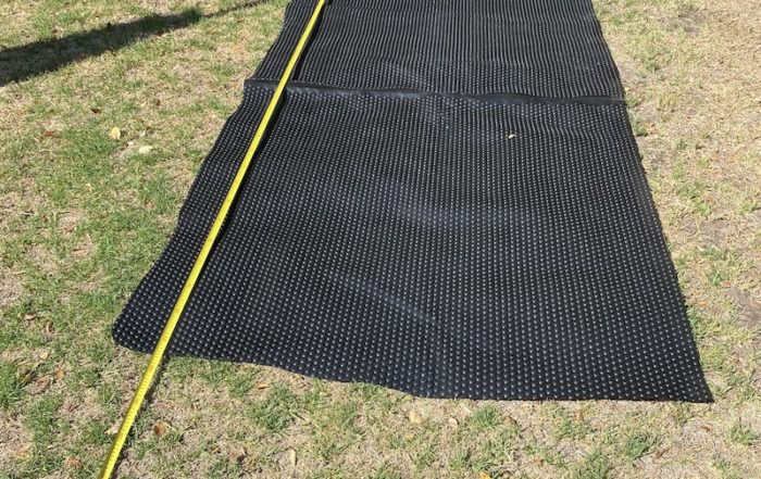 pool covers cape town - black 500 micron off-cut